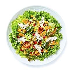 [冷蔵] 2人前 ミールキット RF1 緑黃色野菜とシーザーチキンのサラダ 熟成パルミジャーノ?レッジャーノソース付き