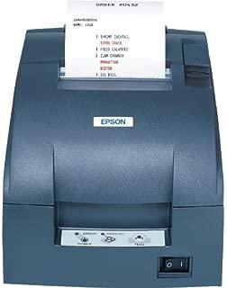 Epson C31C514667 Dot Matrix Receipt Printer TM-U220B, Ethernet, Autocutter, Power Supply Included, Dark Gray
