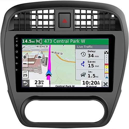 LINGJIE Autoradio für Nissan Sylphy 2006-2012 Android 10.0 9 Zoll Doppel-DIN-Head Unit GPS Navigation MP5 Multimedia-Player-Radio-Video-Empfänger,4core 4g WiFi 2+32