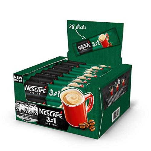 Nescafé 3in1 Stix Portionssticks 3in1 Kaffee Großhandel Preis Original Strong (Strong, 60 Stix)