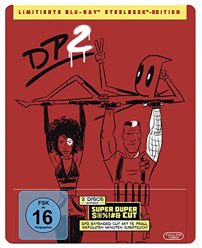 Deadpool 2 Steelbook [Blu-ray] [Limited Edition]
