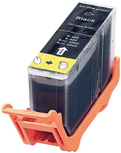 iColor Odixion Quatro Premium: Patrone für Canon (ersetzt BCI-3eBK), Black (Odixion Octavo)
