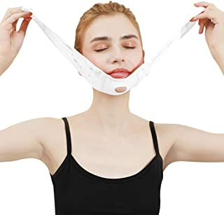 Facial Slimming voor Facial, Lift Face Belt Tighten Skin Bandage, Double Chin Reducer Facial Lifting Slimming Elastische r...