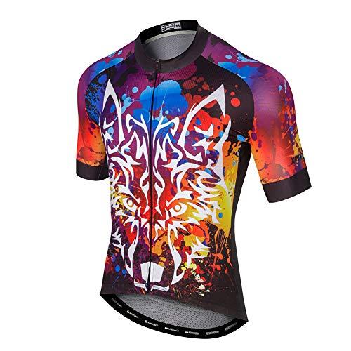 LPATTERN Verano Hombre Cycling Jersey Maillot Ciclismo Mangas Cortas Camiseta de Ciclistas...