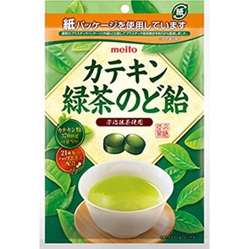名糖産業 カテキン緑茶のど飴 100g×10入