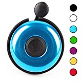 MOFAST Bike Bells, Loud Sound Aluminum Bicycle Bell for Adult Kids Girls Boys Scooter(Blue)