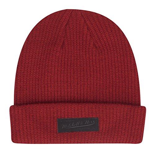 Mitchell & Ness - Bonnet - Homme Rouge Rubis Taille Unique