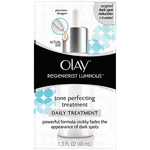 Olay Regenerist Luminous Tone Perfecting Moisturizer and Sun Spot Remover, 1.3 Fl Oz