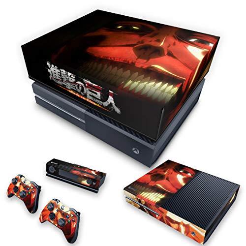 Capa Anti Poeira e Skin para Xbox One Fat - Attack On Titan #B