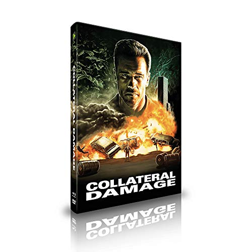 Collateral Damage - Limited Uncut Mediabook - Cover B - DVD- Blu-ray