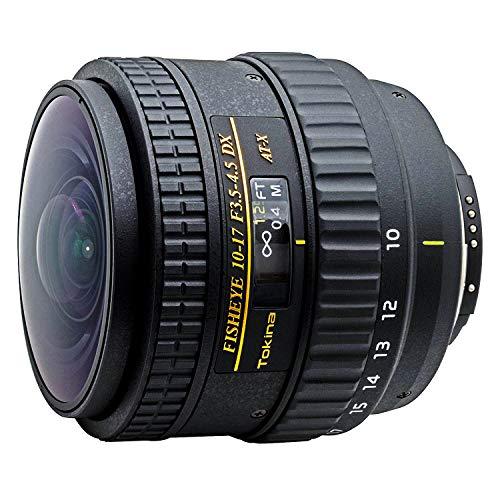 Tokina TO-107NNH AT-X - Obiettivo fish-eye 10-17 mm, per Nikon con sensore di formato grande e piccolo,