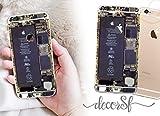 Pegatina de vinilo para iPhone 6 y 6S, diseño moderno