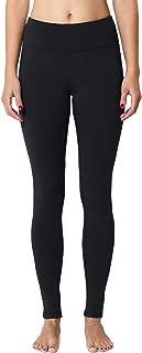 BALEAF Women's Fleece Lined Leggings Thermal Tights Running Yoga Capri Pants Hidden Pocket