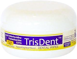 DermaZoo - TrisDent Dental Wipes25 Count Individual Jar
