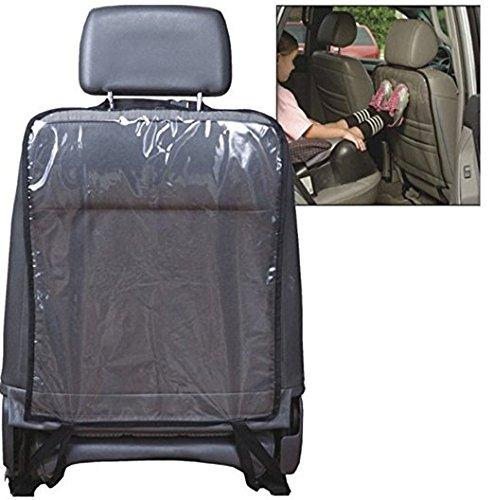 Transparent Clean-edge Kick Tapis de 2 pcs/lot – Protection dorsale de l'assise et housse de siège avec languette invisible et Stiff Bordure
