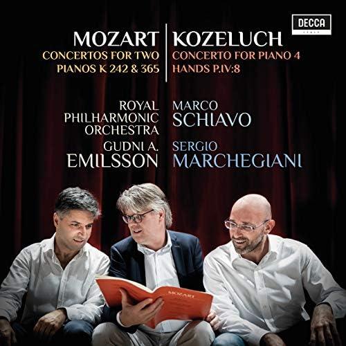 Marco Schiavo, Sergio Marchegiani, Royal Philharmonic Orchestra & Gudni A. Emilsson