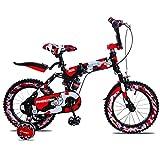 DX Bici da Bicicletta per Bambini al Coperto Pieghevole Ragazza Ragazzo Triciclo Colo Scooter per Bambini da Viaggio Estivo Molto Coo Estivo
