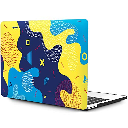 OneGET MacBook Pro 13 Zoll Hulle mit Touch Bar Laptop Hulle 2016 2017 2018 2019 Release A2159 A1989 A1706 A1708 MacBook Pro Cover fur Cute MacBook Pro Case 13 Zoll Hard Shell Art Design S9