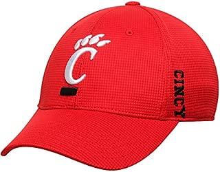 Top of the World Cincinnati Bearcats Tow Red Booster Memory Foam Flexfit Structured Golf Hat Cap
