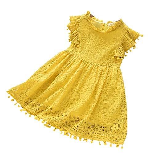Sunnymi - Conjunto de ropa de verano para bebé niña, 2 – 7 años de bebé, niña, con lentejuelas bordadas, chaleco sin mangas E 4-5 Años