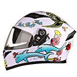 BUETR Off-road moto exterior casco eléctrico equitación casco deportivo ciclismo protector casco-animal world_XXL