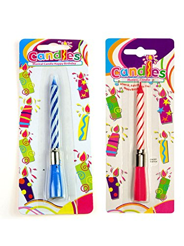 Boland 63413 Candela Musicale Happy Birthday, Couleurs Assorti