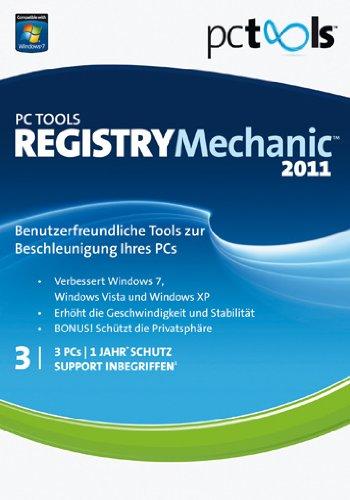PC TOOLS REGISTRY Mechanic 2011 3 PC