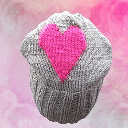 Strickanleitung Anfänger Damenmütze, Slushy, Beanie- auch für Mädchen ab 8 Jahre tragbar: Ideal für Anfänger