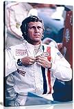 Kunstdruck auf Leinwand, Steve Mcqueen Le Mans, 76,2 x 50,8