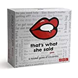 That's What She Said - The Twisted Party Game