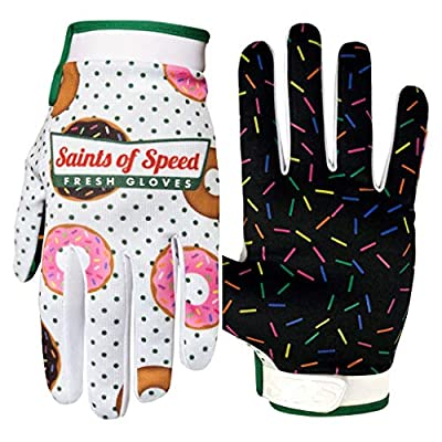 Saints of Speed Motorcycle Mountain Bike BMX MTB Cycling and Dirt Bike Riding Gloves
