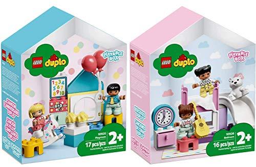 Lego® DUPLO® 2er Set 10925 10926 Spielzimmer-Spielbox + Kinderzimmer-Spielbox