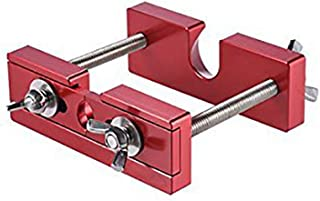 "Timiy 4.33"" x 3.94"" Mouthpiece Puller Remover Tool for Brass Trumpet Trombone Euphonium Horn Mouth Piece (Red)"