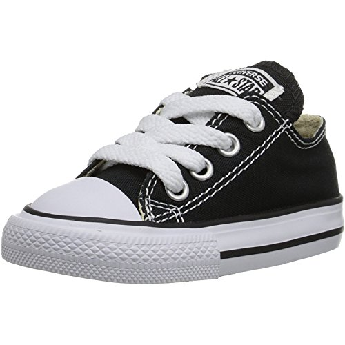 Product Image of the Converse unisex-child Chuck Taylor All Star Low Top Sneaker, black, 7 M US...