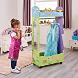 Liberty House Toys Wooden Fairy Dress Up Storage Centre with Hangers