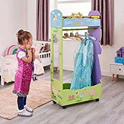 DRESS UP STORAGE Liberty House Toys durable and high quality fairy dress up storage centre ideal for any bedroom playroom nursery and play group! EASY-TO-ASSEMBLE KIDS FURNITURE SET Liberty House Toys Fairy Dress Up Storage Centre is an easy-to-assem...