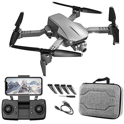 Drone con cámara 4K para niños 8-12 para adultos Drone plegable con foto1080p Video Sígueme 50x Zoom Auto Return Home Gravity Sensing Control Reconoce automáticamente el DRONE para principiantes
