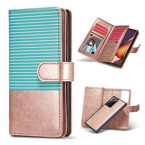 JIAHENG Phone Case Case For Samsung Galaxy Note20Ultra Flip Case,Premium PU Leather Wallet Case with Kickstand and Flip Cover,Mobile Wallet Protective Case with ID & Credit Card Pocket PU Leather