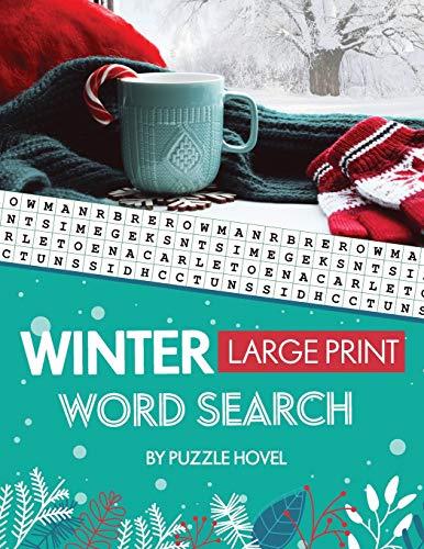 Winter Large Print Word Search: Seasonal Word Search Puzzles for Active Minds (Word Search Puzzle Books for Seniors, Band 1)