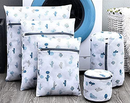 WWWL Waszakken, waszakken voor wasmachines BH ondergoed organizer netto tas kleding hulp wasmiddelen beha wassen lingerie beschermen voor college Dorm (kleur: grijs)