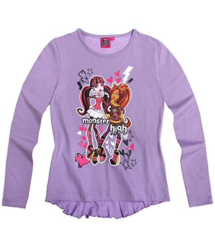 Monster High Chicas Camiseta mangas largas - malva - 140