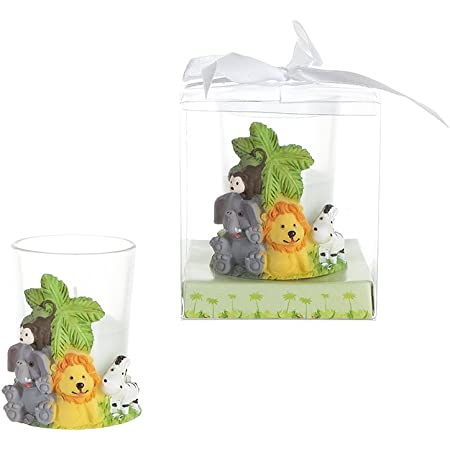 12-Baby Shower Table Decorations Giraffe Candles Party Favors Animals Safari