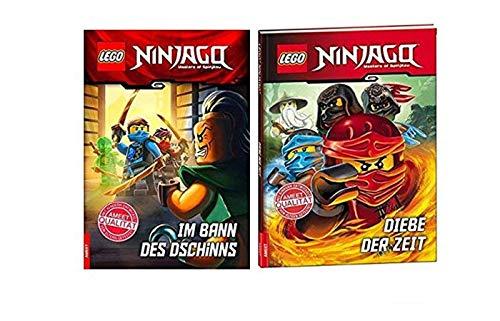 LEGO NINJAGO Im Bann des Jinns: libro de lectura + ladrones del tiempo, libro infantil para principiantes de lectura