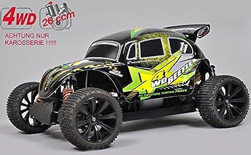T2M FG 1 5 4WD Beetle Pro WB535 Karosserie + Heckspoiler Beklebt Lackiert FT9