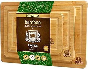 wooden cutting board set