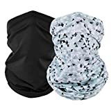 EXski UV Face Mask, Bandana Neck Gaiter Balaclava Summer Cooling Breathable for Cycling Running Fishing Outdoors