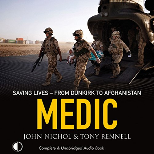 Medic audiobook cover art