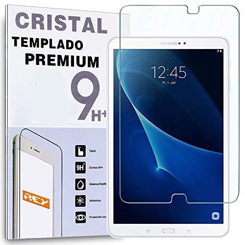 """REY Protector de Pantalla para Samsung Galaxy Tab A6 T580 2016 10.1"""", Cristal Vidrio Templado Premium"""