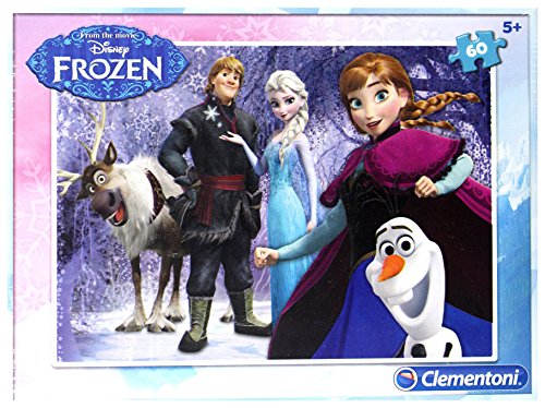Clementoni-Clementoni-08413-Puzzle Frozen-60 Piezas