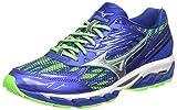 Mizuno Wave Paradox 3, Chaussures de Running Entrainement Homme, Bleu (Surf The Web/Silver/Green Gecko), 40.5 EU